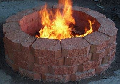 Country Stone fire pit